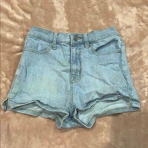 BDG Jean shorts high rise